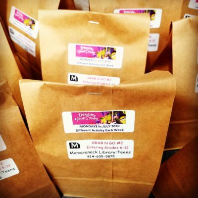 AUTUMN GRAB-n-GO: Teens @ Home Activity Bags @ Mamaroneck Public Library District |  |  |