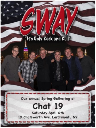 Sway Live in Larchmont @ Chat 19 |  |  |