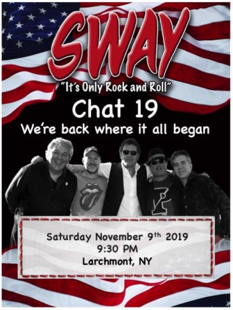 Sway returns to Larchmont @ Chat 19 |  |  |