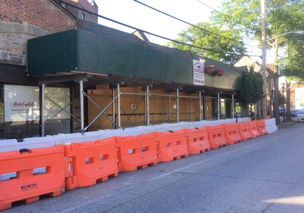 Larchmont Stores Closed After Crash Still Open for Business
