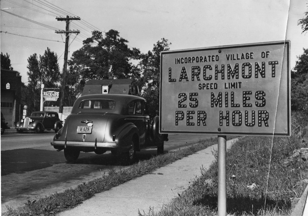 The Way We Were: Going Slow in Larchmont