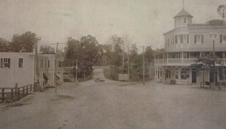 larchmont hotel, chatsworth and myrtle blvd, larchmont 1900s