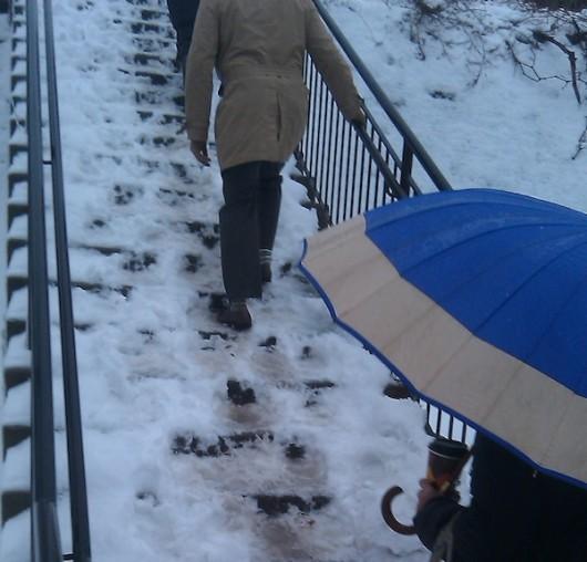 mamk train stairs