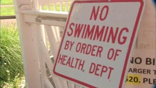 beach, no swimming