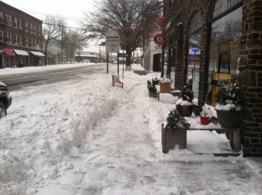 snow larchmont
