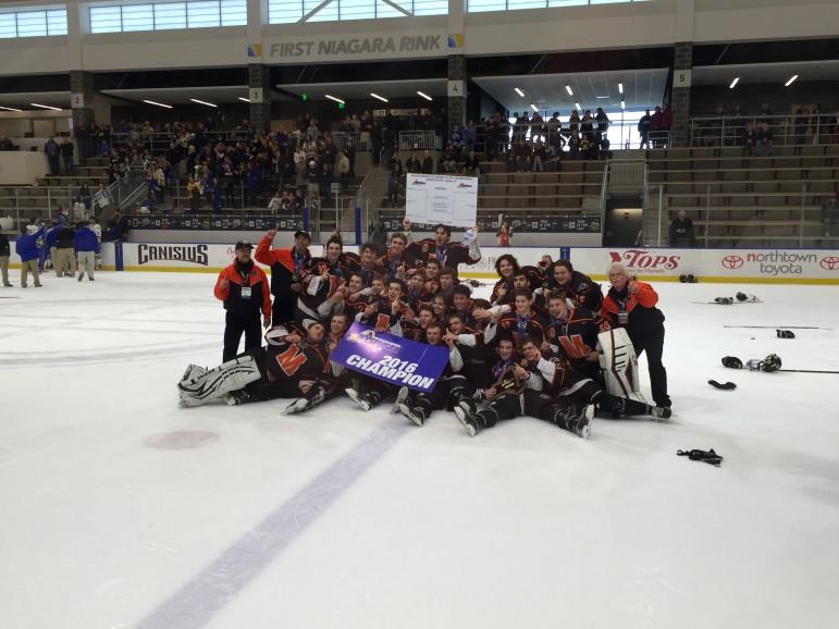 mamaroneck hockey wins state