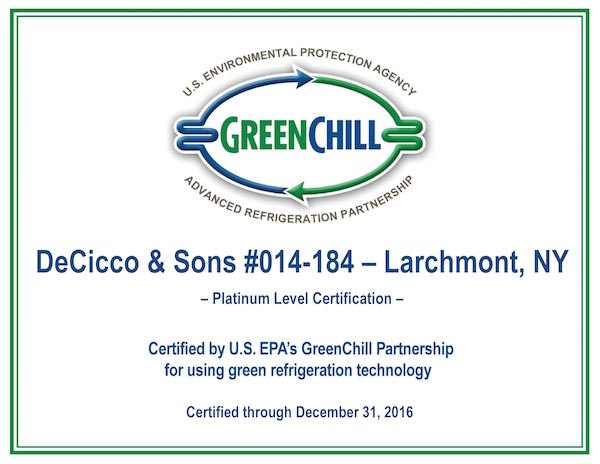 Larchmont S Decicco S Receives Epa Energy Award Theloop