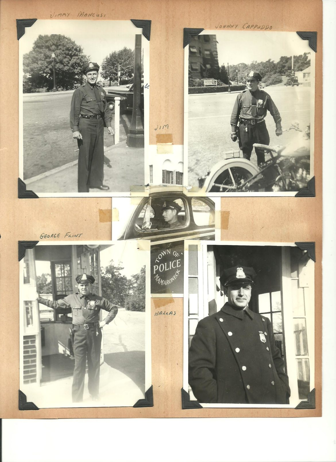 Mamaroneck police c 1943