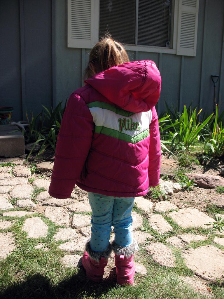 child, coat