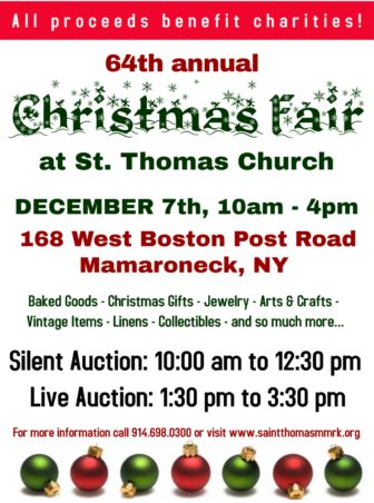 CHRISTMAS FAIR @ ST. THOMAS EPISCOPAL CHURCH |  |  |