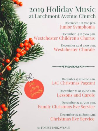 Christmas Pageant for Children @ Larchmont Avenue Church |  |  |