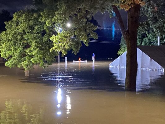 Ida Flooding Rescue