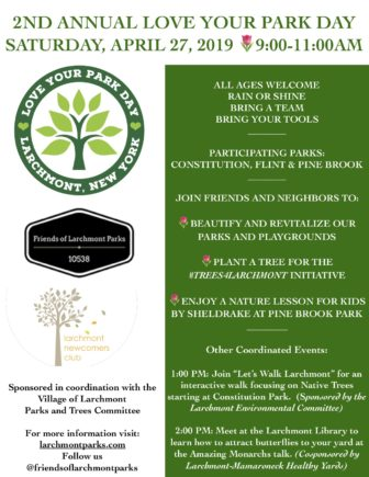 Love Your Park Day - Larchmont Community Volunteer Day @ Constitution Park |  |  |