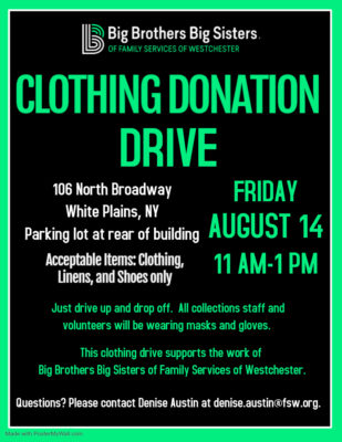 Big Brothers Big Sisters of FSW Clothing Donation Drive @ Center for All Ages |  |  |