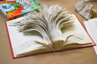 Book / Magazine Sculpture Workshop @ The Rye Arts Center |  |  |