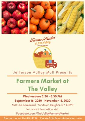 Farmers Market at The Valley @ Jefferson Valley Mall |  |  |