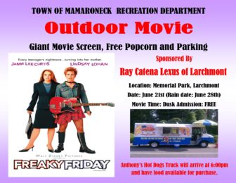 Outdoor Movie - Freaky Friday @ Memorial Park |  |  |