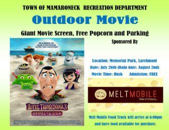 Outdoor Movie - Hotel Transylvania 3 @ Memorial Park |  |  |