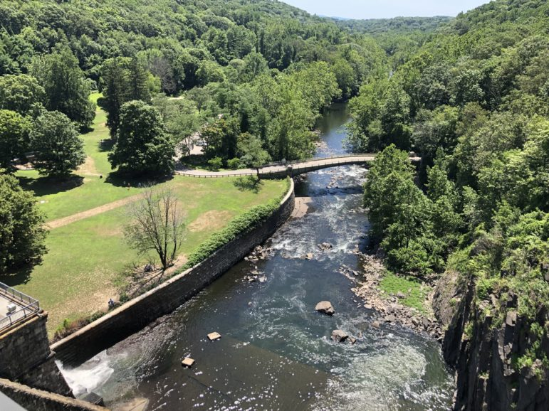 View from the New Croton Dam