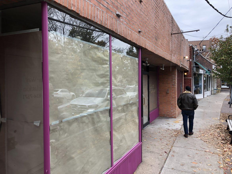 Empty Palmer Avenue Storefront