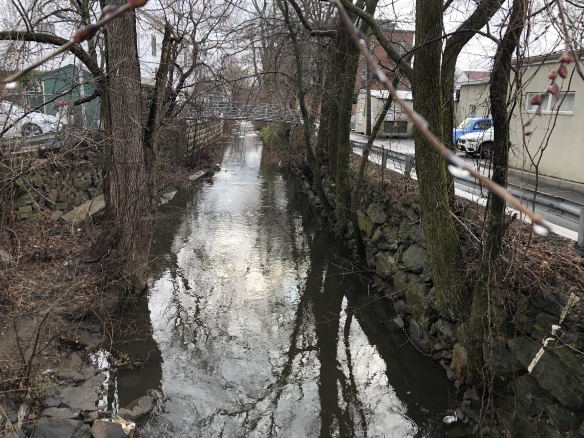 Sheldrake River at Mamaroneck Avenue
