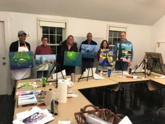 Adult Workshop: BYOB & Paint @ The Rye Arts Center | | |