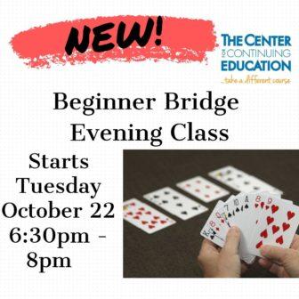 Beginner Bridge @ Mamaroneck High School         