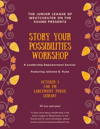Story Your Possibilities Workshop @ Larchmont Public Library |  |  |