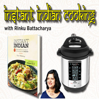 Instant Pot Indian Cooking with Rinku Bhattacharya @ Larchmont Public Library |  |  |
