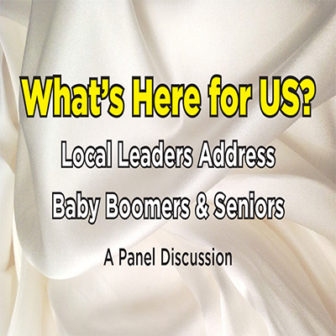 LOCAL LEADERS ADDRESS BABY BOOMERS AND SENIORS @ Larchmont Public Library | Larchmont | New York | United States