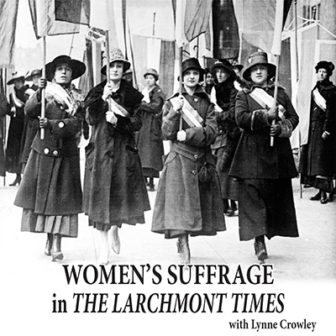Women's Suffrage in the Larchmont Times with Lynne Crowley @ Larchmont Public Library |  |  |