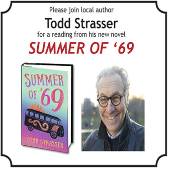 Friends of the Larchmont Public Library presents Todd Strasser @ Larchmont Public Library |  |  |