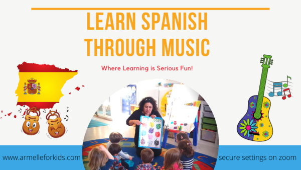 Learn Spanish Through Music Virtual Classes @ Online |  |  |