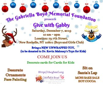 "The Gabriella Boyd Memorial Foundation presents ""Give with Gabby"" @ Boys & Girls Club of New Rochelle  
