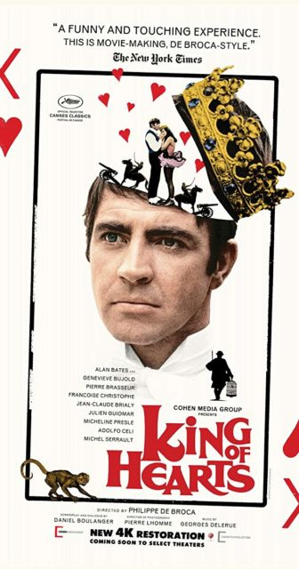 The King Of Hearts (Le Roi Des Coeurs) @ Mamaroneck Public Library  |  |  |