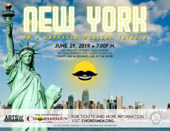 "A Singing Salute to New York City ""An a cappella tour de farce"" @ Stepinac High School 