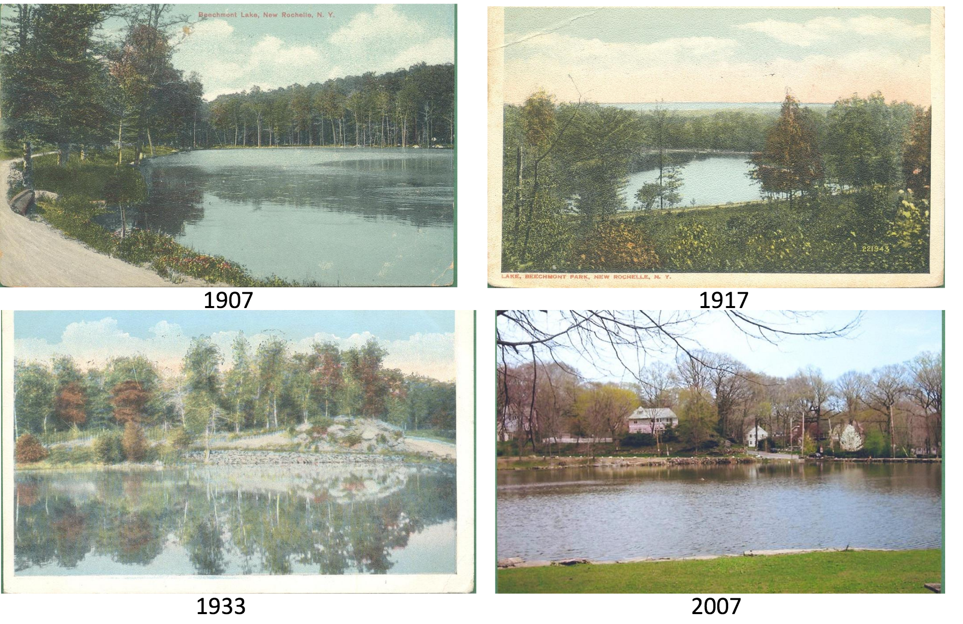 Beechmont Lake Restoration In New Rochelle In Spring Theloop