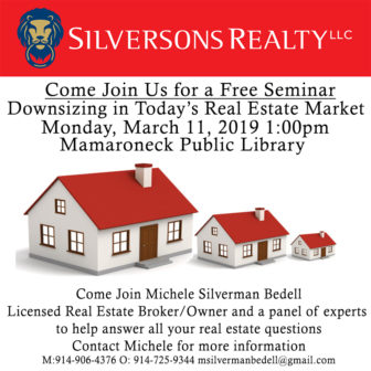 Downsizing in Today's Real Estate Market @ Mamaroneck Public Library |  |  |