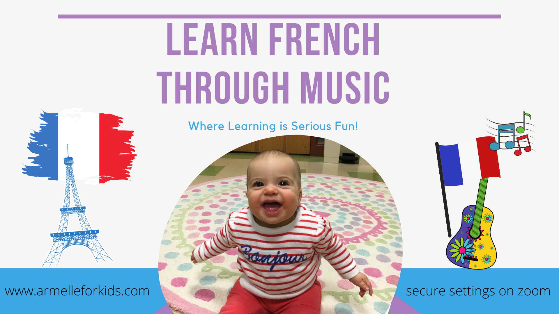 Learn French Through Music Virtual Classes