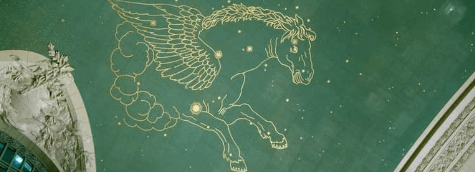 Astronomy on the Ceiling: The Constellations of Grand Central Terminal