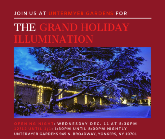 Grand Holiday Illumination at Untermyer Gardens @ Untermyer Gardens |  |  |