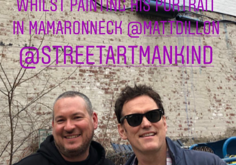 Street Art, Actor and Author Celebrate Mamaroneck Village this Week