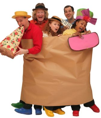 The Paper Bag Players: Stand Up & Cheer, We're 60 This Year! @ Emelin Theatre |  |  |