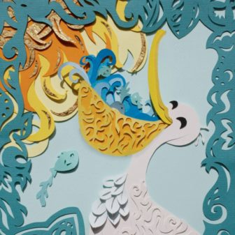Shadowbox Paper Pelicans Workshop @ The Rye Arts Center |  |  |