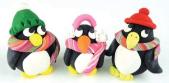Make a Penguin with Polymer Clay Workshop @ The Rye Arts Center |  |  |