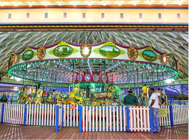 rye playland carousel