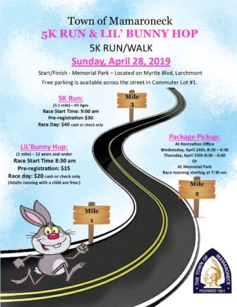 5K Run & Lil Bunny Hop @ Memorial Park |  |  |
