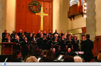 Bring Peace Through Music -- Westchester Chorale concert @ Larchmont Avenue Church  |  |  |